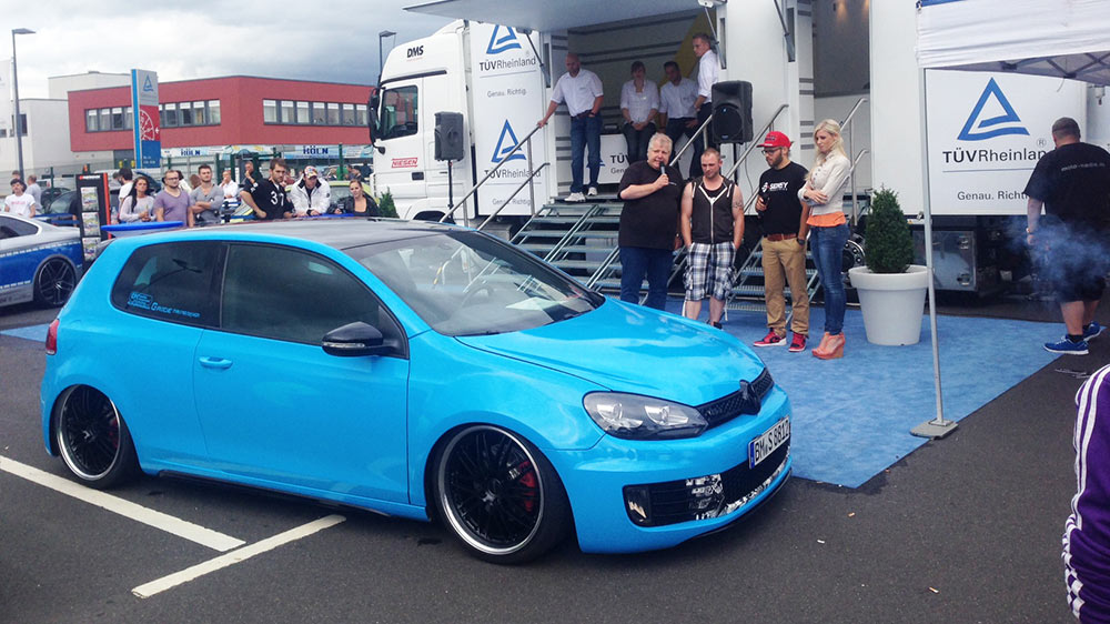 NSL Promotion Truck als Meeting Point der TÜV Rheinland-Tuning-Night